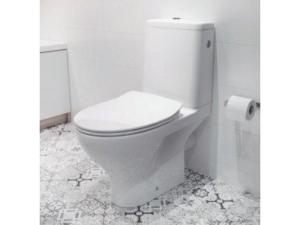 CERSANIT - WC KOMBI MODUO 648 - mísa K116-005-02X
