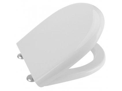 AQUALINE - ABSOLUTE / RIGA WC sedátko Soft Close, duroplast, bílá (40R30700I)