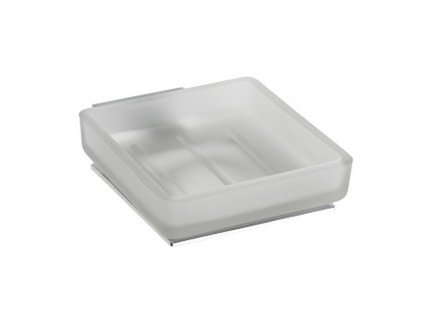Bemeta Plaza mýdlenka miska sklo, chrom (118108022)