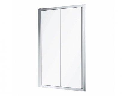 Kolo Geo sprchové dveře 135-140x190 cm, stříbrná lesk, dekor transparent (560163003)