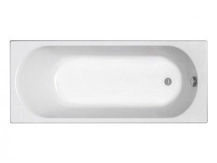 Kolo Opal Plus pravoúhlá vana 160x70 cm, včetně nohou, bílá (XWP1260000)