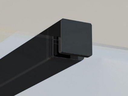 Ravak Walk-In W SET vzpěra ke sprchového koutu Wall/Corner 90, černá (GWD010003018)