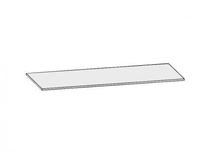Riho AVELLA krycí deska z litého mramoru 180x50cm (F8AN618350005)
