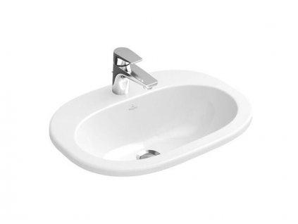 Villeroy & Boch O.novo zápustné umyvadlo, 560x405mm, bílá, CeramicPlus (416156R1)