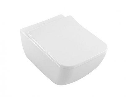 Villeroy & Boch Venticello závěsné WC, Directflush, CeramicPlus, bílá Alpin (4611R0R1)