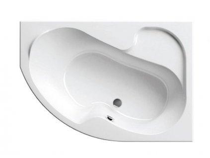 Výprodej - Ravak Rosa asymetrická vana 150x105 cm, pravá, bílá (CJ01000000)