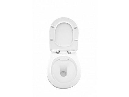 VIEGA Presvista modul DRY pro WC včetně tlačítka Life5 CHROM + WC REA TOMAS RIMFLESS + SEDÁTKO (V771973 LIFE5CR TO1)