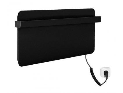 SAPHO - ELMIS elektrický sušák ručníků 600x300mm, 90W, hliník, antracit (EB630)