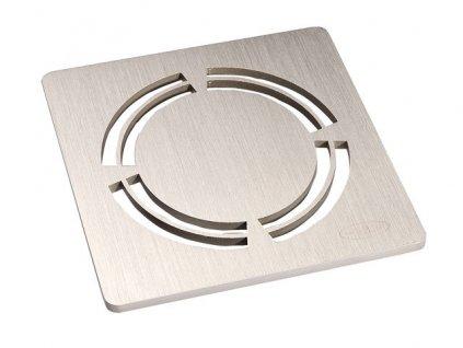 HL Vtoková mřížka z nerezové oceli (V4A) 115x115mm 'Primus Design' (HL3127)