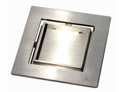 HL vtoková mřížka z nerezové oceli s plochou pro vlepení dlažby (HL0540I)
