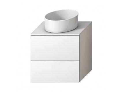 JIKA Mio - skříňka pod desku 61 cm pro umyvadlové mísy, 2 zásuvky (41J715)
