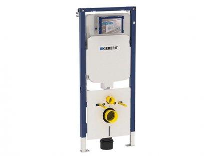 Geberit Duofix montážní prvek pro závěsné WC, 114 cm, se splachovací nádržkou pod omítku Sigma 8 cm (111.794.00.1)