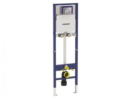 Geberit Duofix instalační prvek pro výlevku, 175 cm, se splachovací nádržkou pod omítku Sigma 12 cm, nástěnná armatura na omítku (111.565.00.1)
