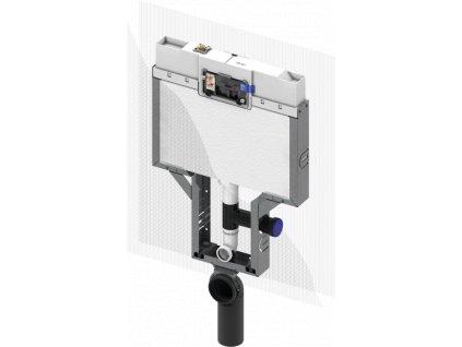 TECEbox nádržka pro zděné konstrukce pro závěsné WC, hloubka 8 cm, s připojením pro odsávání pachu, stavební výška 1110mm (9370041)