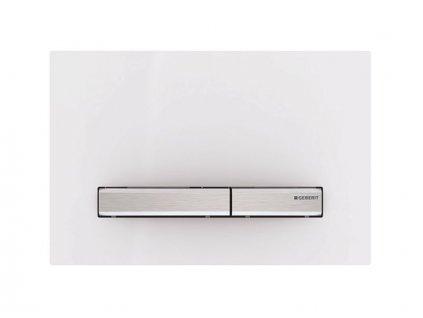 Geberit Sigma50 ovládací tlačítko, pro 2 množství splachování, alpská bílá (115.788.11.2)