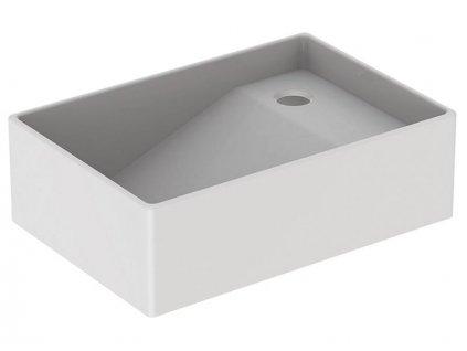 Geberit Publica umyvadlo na zachycování sádry 78x51,5 cm, horní díl, bílá (362511000)