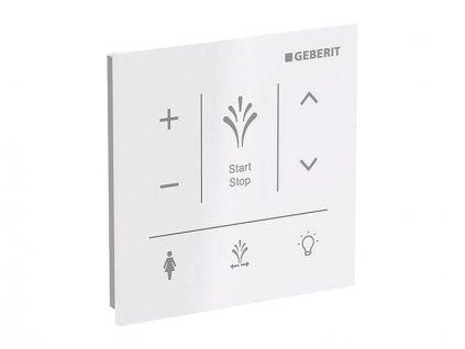 Geberit AquaClean nástěnný ovládací panel pro Sela, bílá (147.041.SI.1)