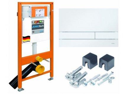 JOMO - Modul JOMOTech pro závěsné WC + ovládací deska pro duální spláchnutí + montážní sada 174-91100900-00