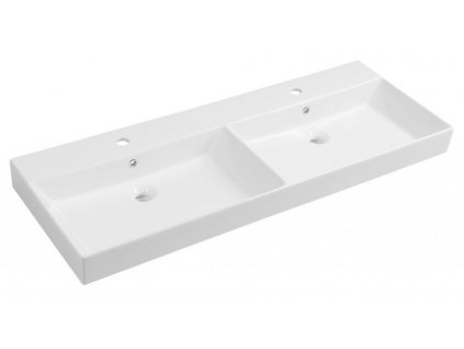 SAPHO - KARE 120 nábytkové dvojumyvadlo, 120x46 cm 17120