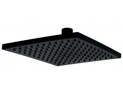 Novaservis - pevná sprcha, černá (RUP/199,5)