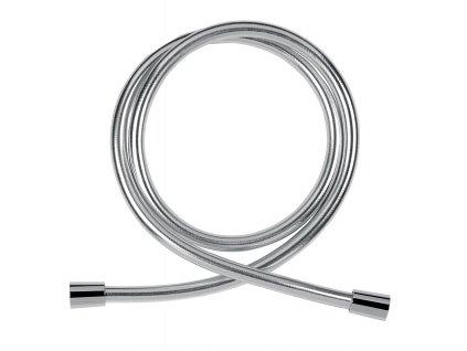 Novaservis - sprchová hadice plastová, 150 cm, stříbrná (NOVAFLEX/150,0)