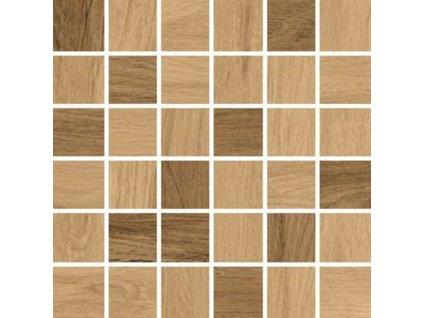 Ja|Série Ashville beige / brown mozaika 30x30 (AMBB)