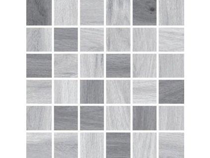 Ja|Série Ashville light grey / grey mozaika 30x30 (AMLG)