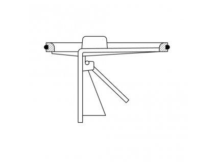 Bruckner - Suchá klapka pro podlahové vpusti 183.030.0