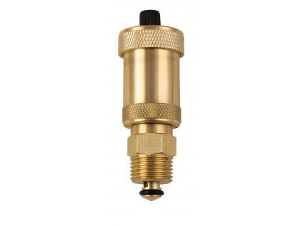 """Novaservis - automatický odvzdušňovák se zpětným ventilem 1/2 """" (O15AS1)"""