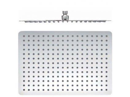 SAPHO - SLIM hlavová sprcha, 400x300mm, nerez MS585