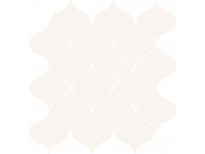 Cersanit Ocean Romance white mosaic satin 28,1x29,3 (2003990)