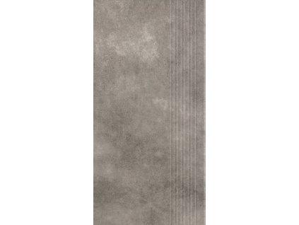 Paradyz Magnetik grafit stopnica prasowana mat 29,8x59,8 (3576508)