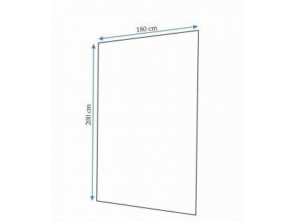 REA - Tutumi textilní sprchový závěs REA-Z0511