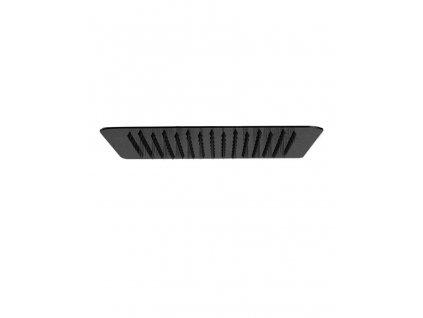Hlavová srpcha INFINITY FLAT BLACK 30x30 cm, kov