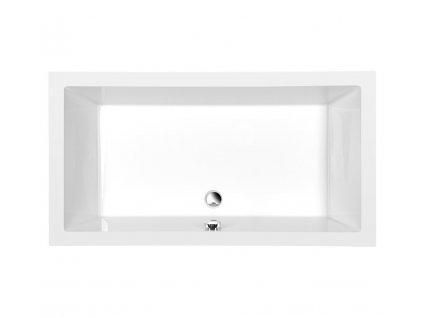 DEEP 140x75 - akrylát hloubka 26 cm (72947)