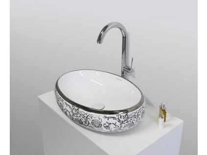 Aquatek - DESIREE keramické umyvadlo 60x40x15 cm DESIREE