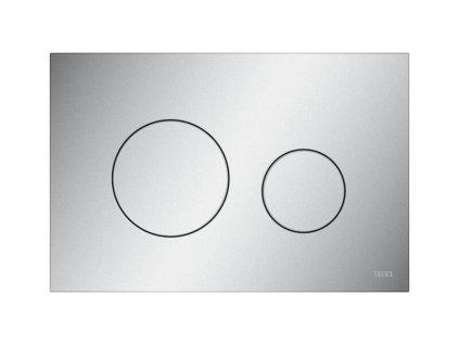 Tece TECEloop ovládací tlačítko, pro 2 množství splachování, plast, matný chrom