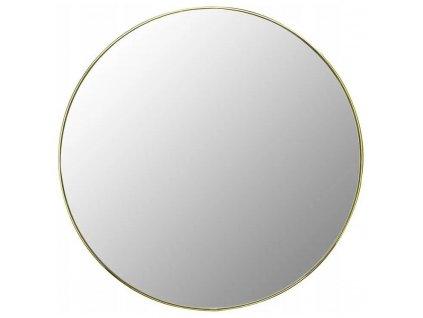 Tutumi Lustro okrągłe Złote 70cm HOM-09821
