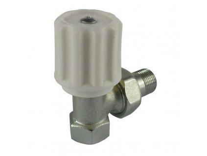 "MEREO - Ventil radiátorový rohový, jednoregulační, 3/8"" PR8060"