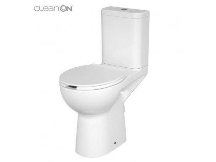 CERSANIT - WC KOMPAKTNÍ ETIUDA NEW CLEANON 010 3 / 6L Invalidní K11-0221