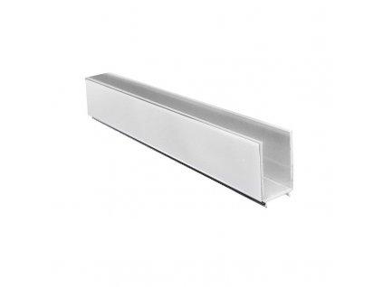 MEREO - Nastavovací boční profil pro sprchové kouty a dveře LIMA, chrom ALU, výška 1900 mm CKND250KL