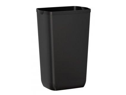 SAPHO - COLORED odpadkový koš nástěnný 23l, ABS, černá mat A74201NE