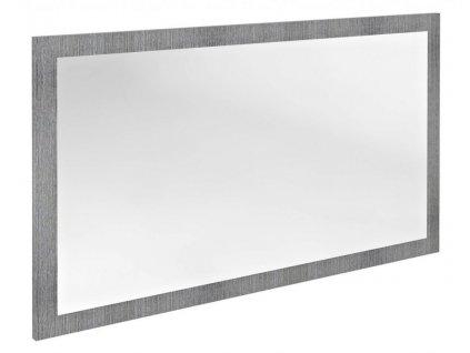 SAPHO - NIROX zrcadlo v rámu 1200x700x28 mm, dub stříbrný NX127-1111