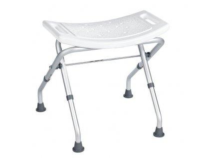 RIDDER - Stolička skládací, bílá A0050301