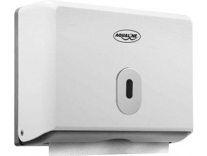AQUALINE - Zásobník papírových ručníků 260x205mm, bílý 1319-81