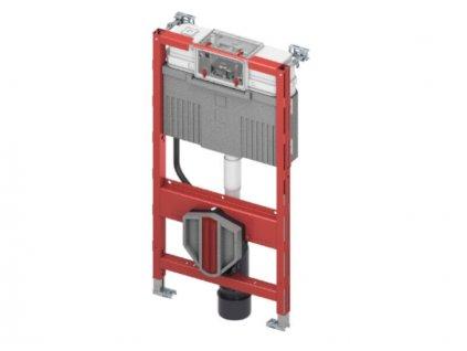 TECEprofil montážní prvek pro WC se splachovací Uni nádržkou a s připojením pro sprchovací toalety, stavební výška 980 mm (9300382)