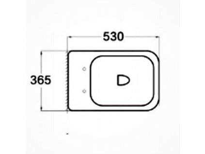MEXEN - Teo Závěsná WC mísa včetně sedátka s slow-slim, Duroplastu, černá 30854070