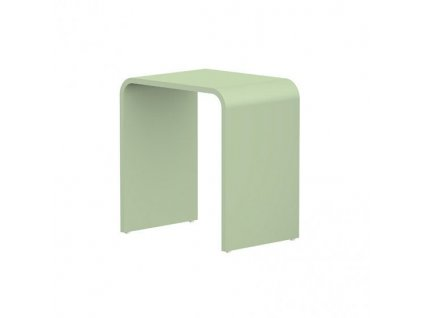 STEINBERG - Stolička z MINEO STONE, šedo-zelená 430 7003