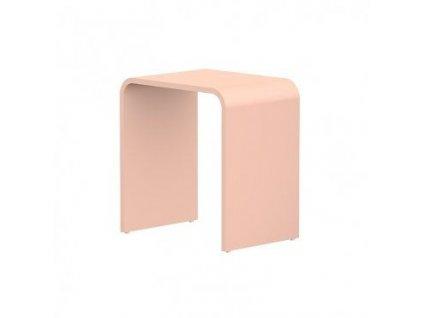 STEINBERG - Stolička z MINEO STONE, růžová 430 7005