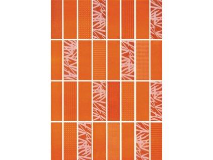 Tubadzin Arco oranžová inserto 2 25x36 (6000533)